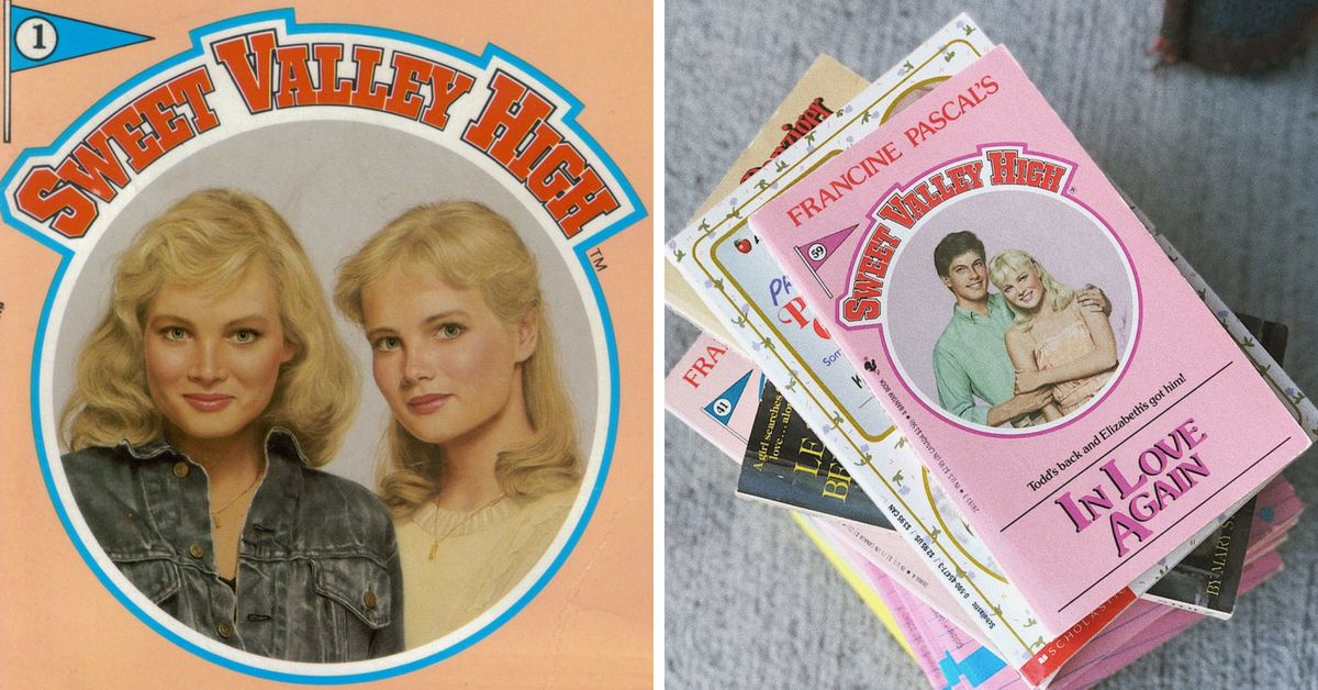 You Can Buy The Original Sweet Valley High Books From The 80s Again And We're Psyched