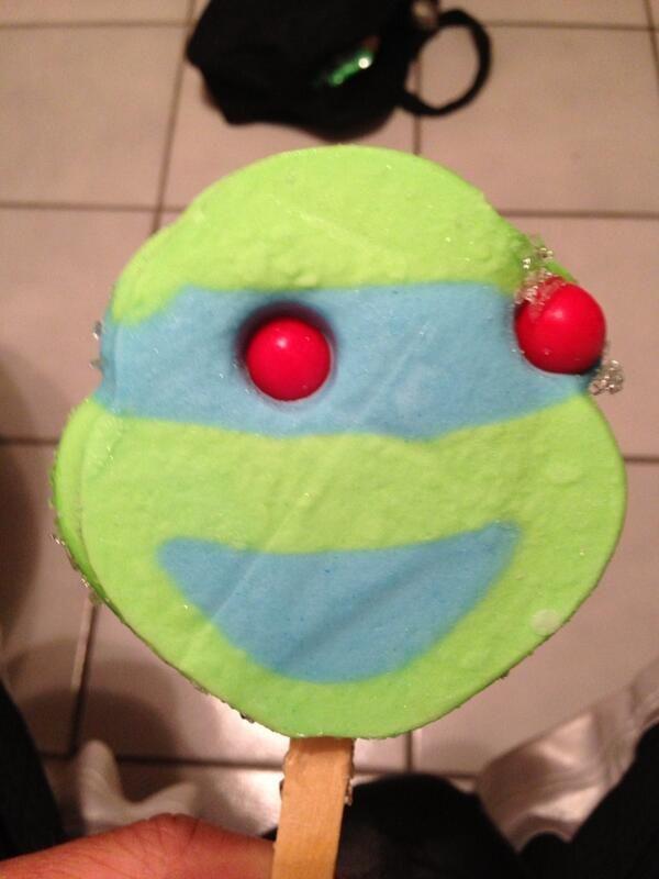 Ninja Turtles Ice cream