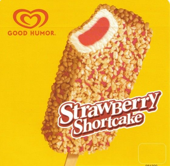 Strawberry Shortcake Ice Cream Bar