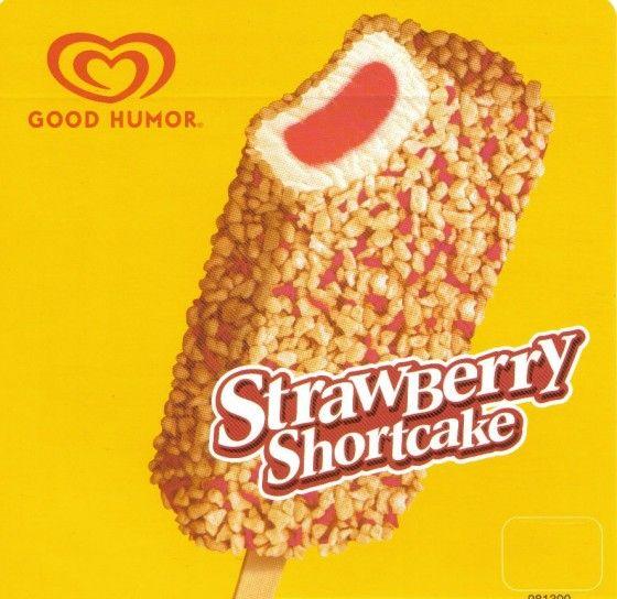 Strawberry Shortcake Ice Cream Bar