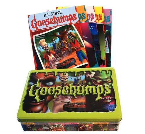Goosebumps tin