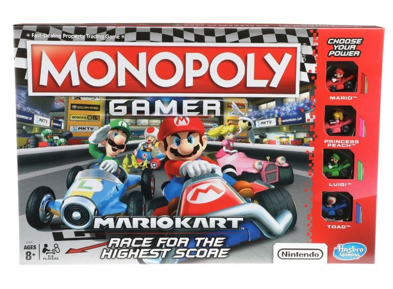 monopology gamer mario kart