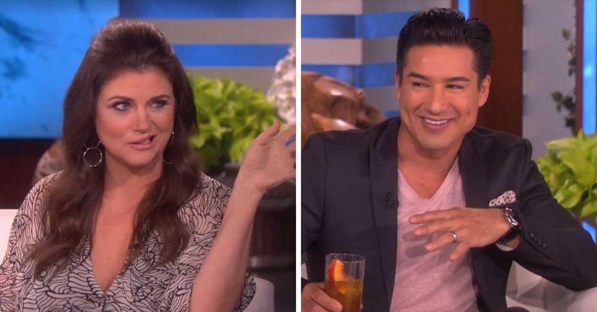 Mario Lopez And Tiffani Thiessen Reunited To Talk Saved By