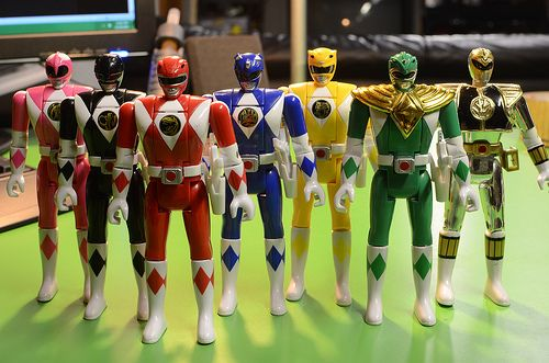 Power Rangers Toys 90s
