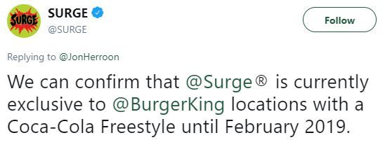 Surge tweets