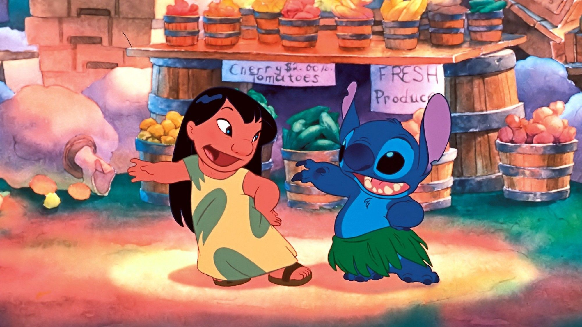 Lilo and Stitch dancing