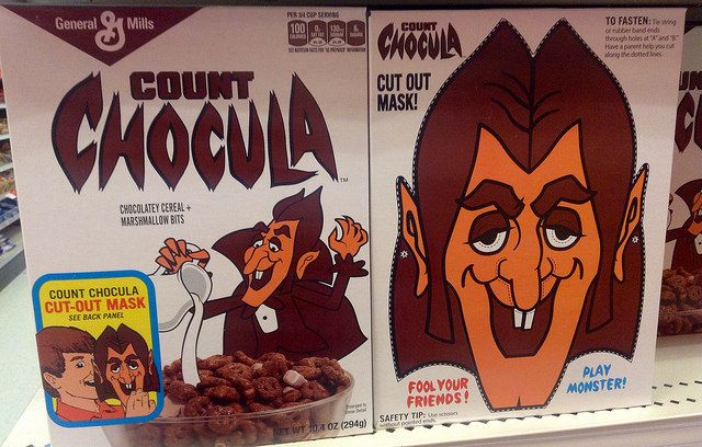 Count Cocula cereal