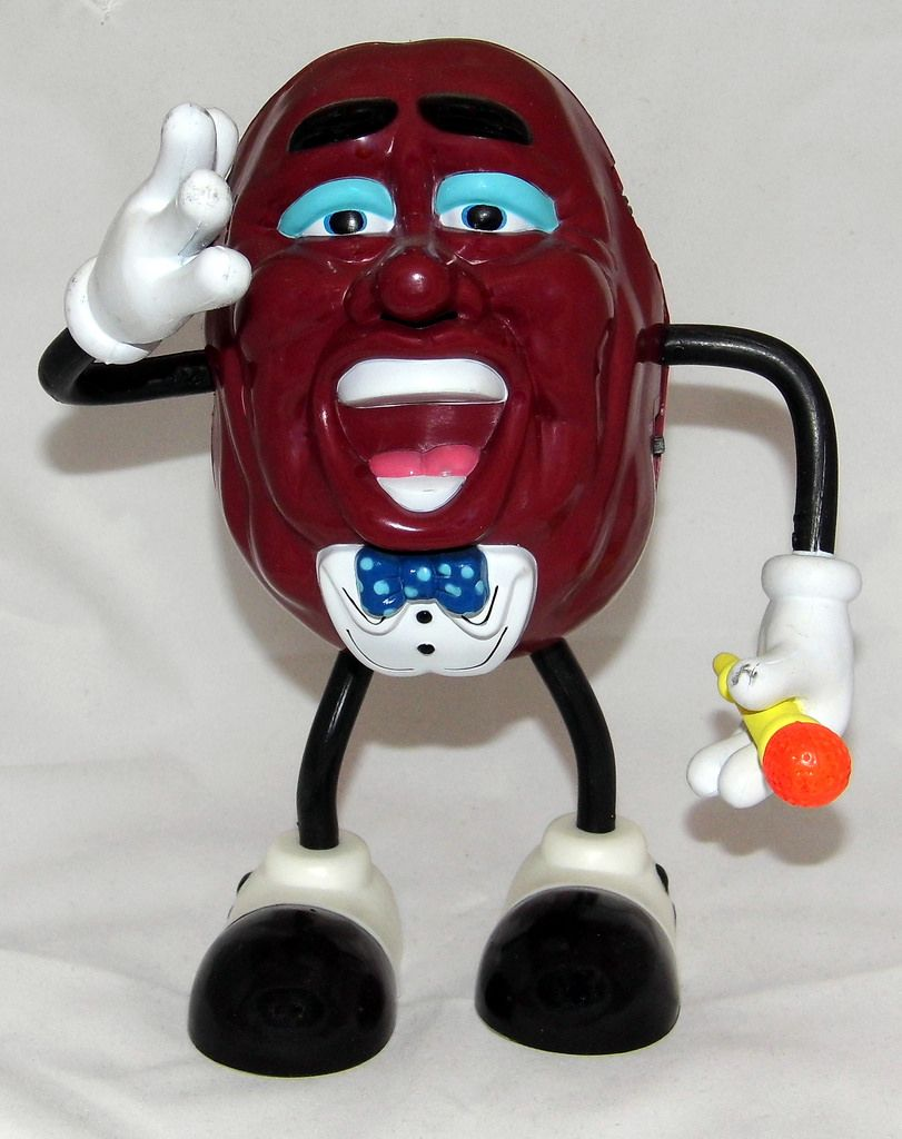 California Raisins figurine