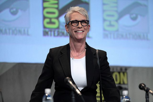 Jamie Lee Curtis Comic Con