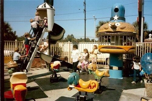 McDonald's playground in the 1980s