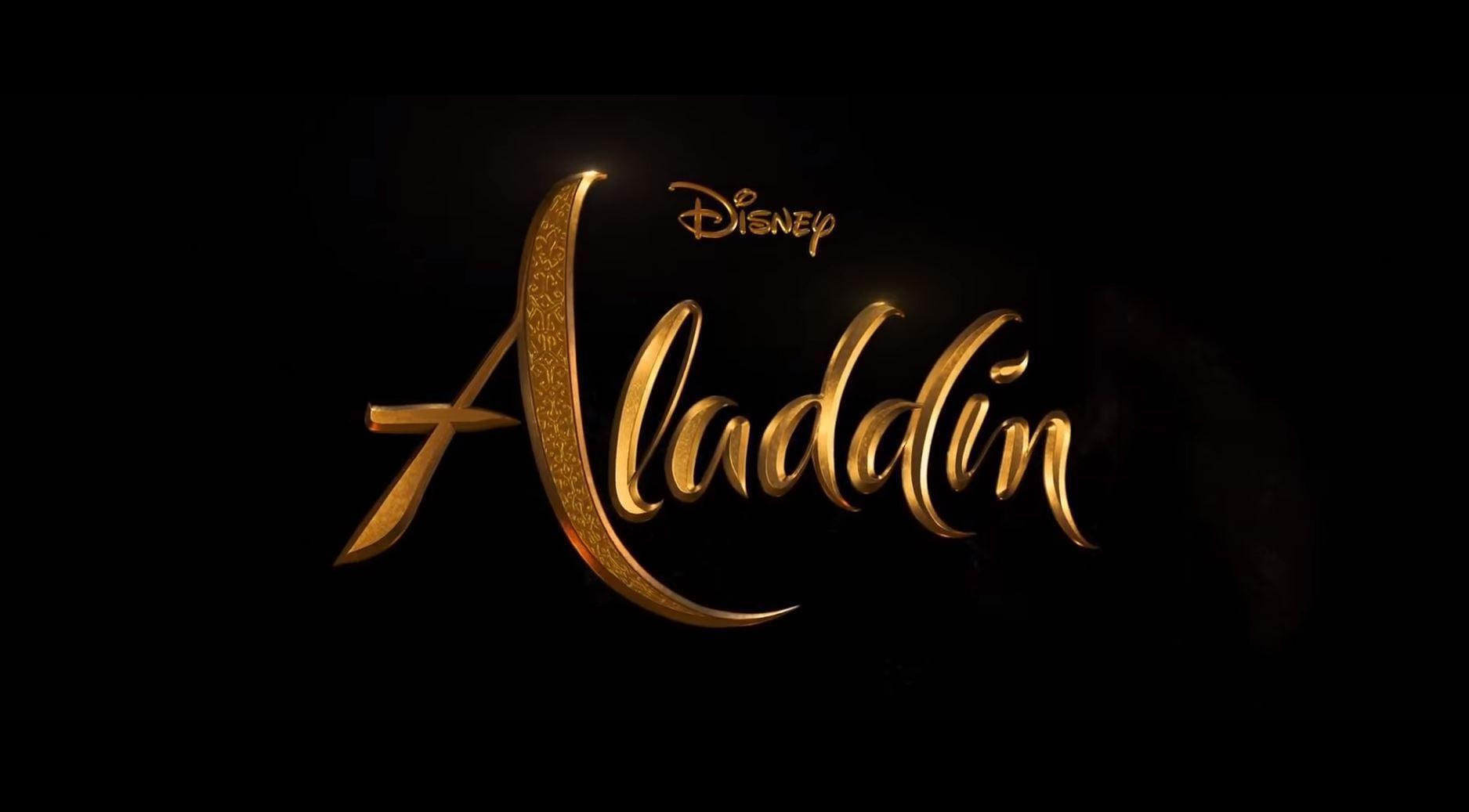 Live action Aladdin logo