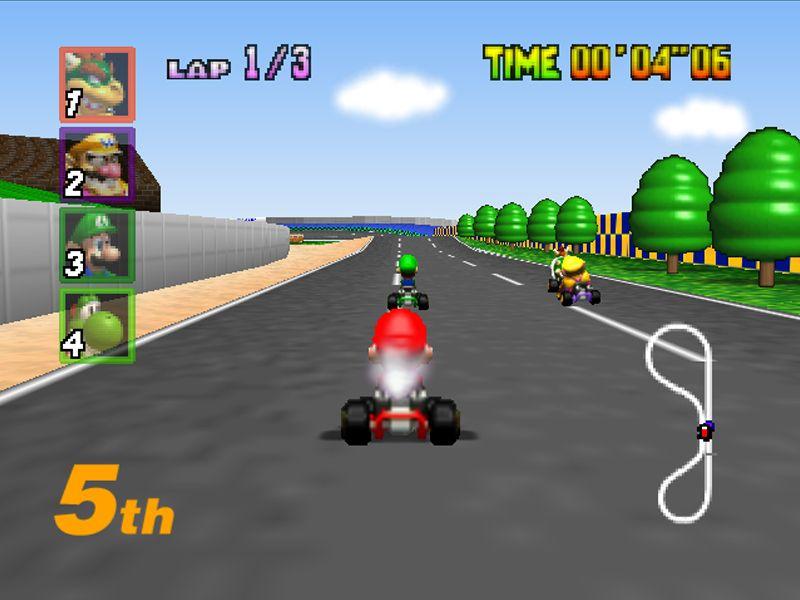 Mario Kart 64 Mario