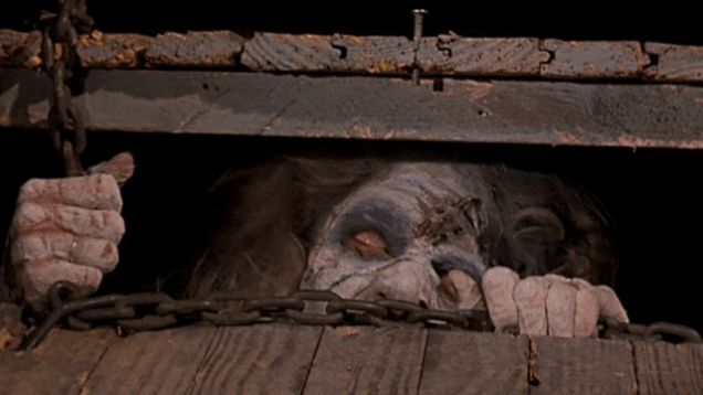 A deadite in 'The Evil Dead'