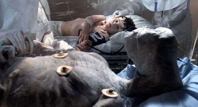 E.T. dying scene