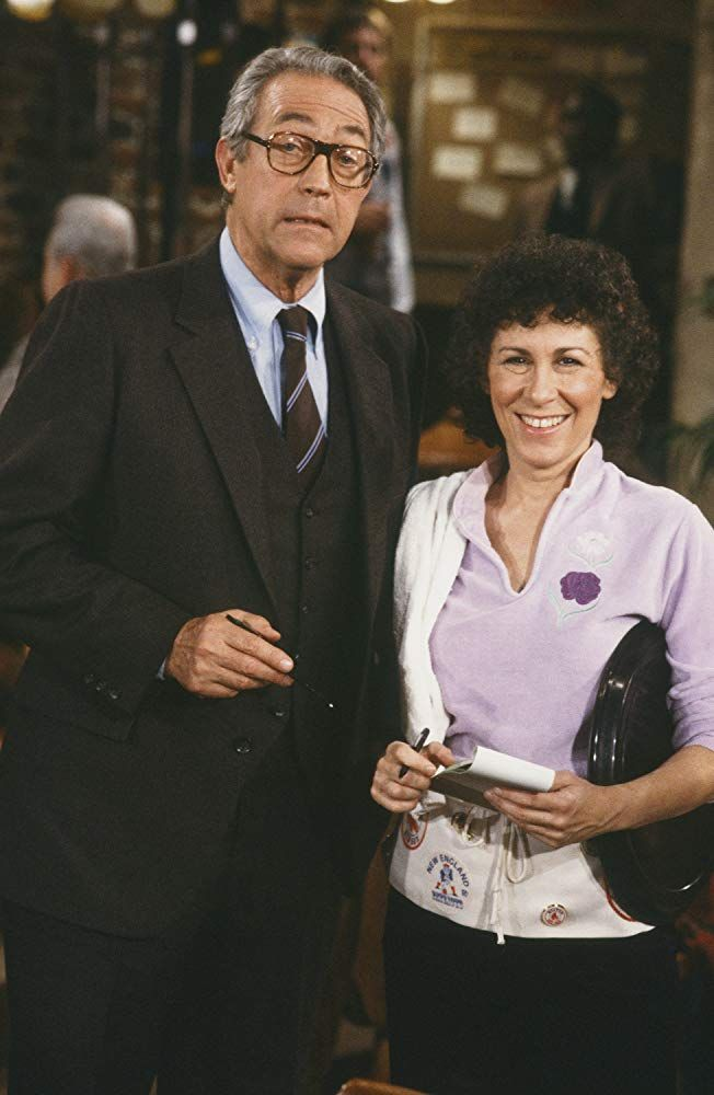 James Karen and Rhea Perlman in 'Cheers'