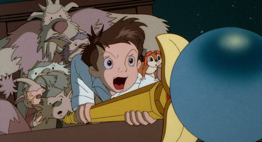 Little Nemo using his staff