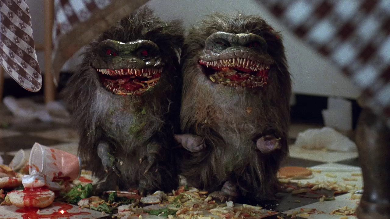 Two critters in 'Critters'