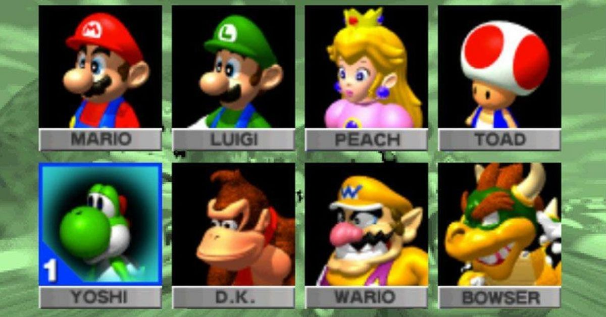 Your Favorite Mario Kart 64 Character Reveals Your Personality