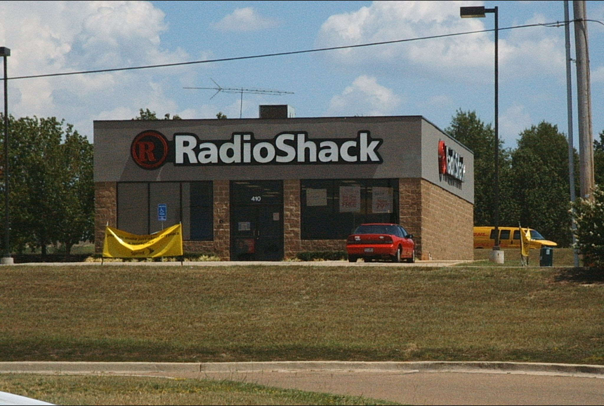 Radio Shack store in Texarkana, Texas