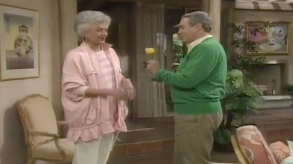 James Karen and Bea Arthur on 'Golden Girls'
