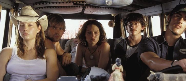 The doomed road-trippers in 'Texas Chainsaw Massacre'