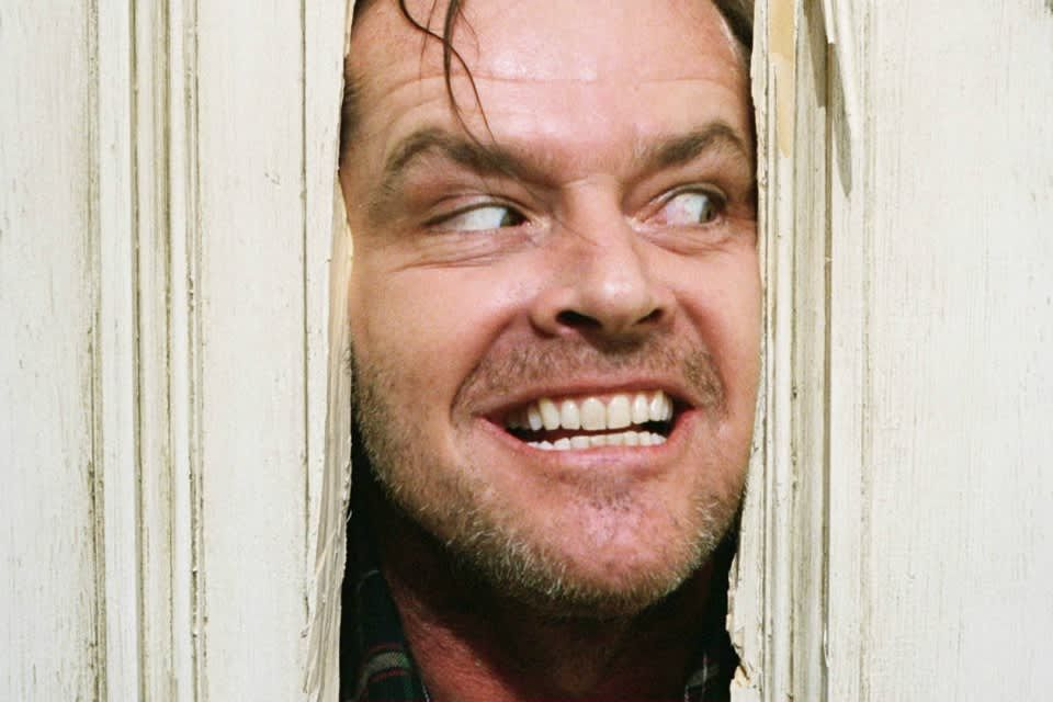 Jack Nicholson as Jack Torrence in 'The Shining'