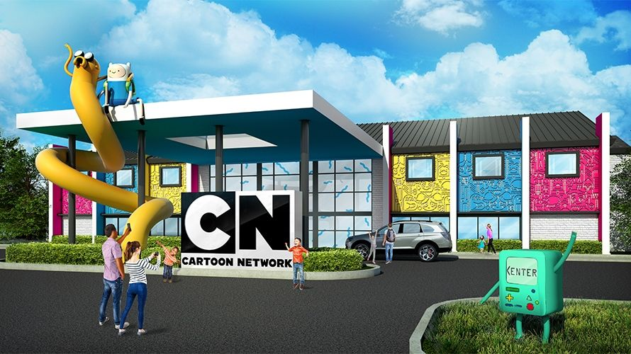 Cartoon Network Hotel design