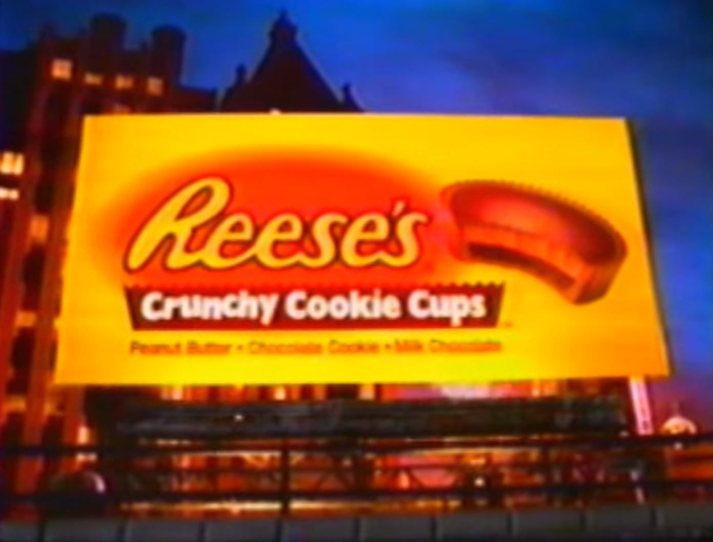Resse's Crunchy cookie cups commercial