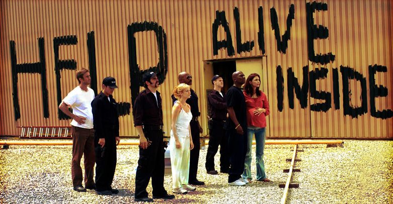 The survivors in 'Dawn of the Dead'