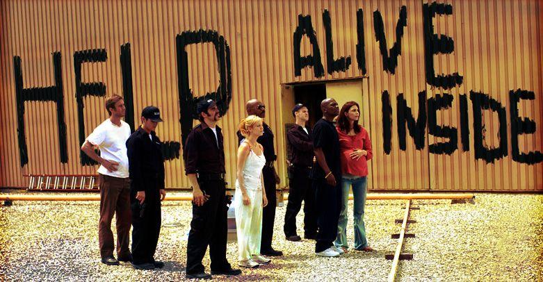 The survivors in 'Dawn of the Dead'