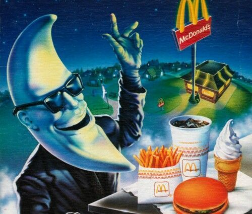 "McDonald's advertisement featuring ""Mac Tonight"""