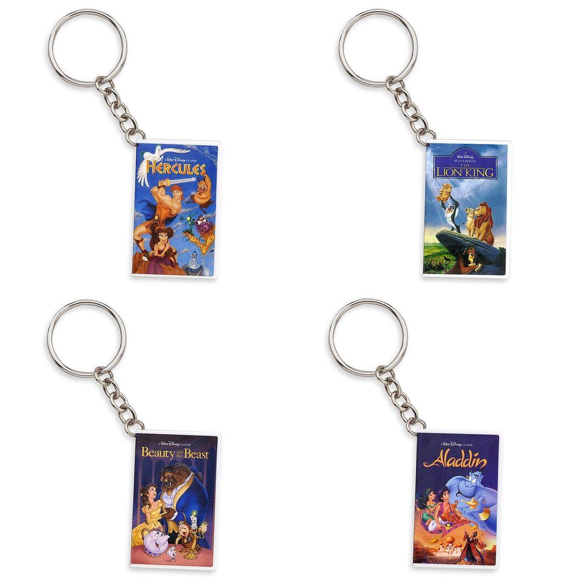 Disney VHS Key chains