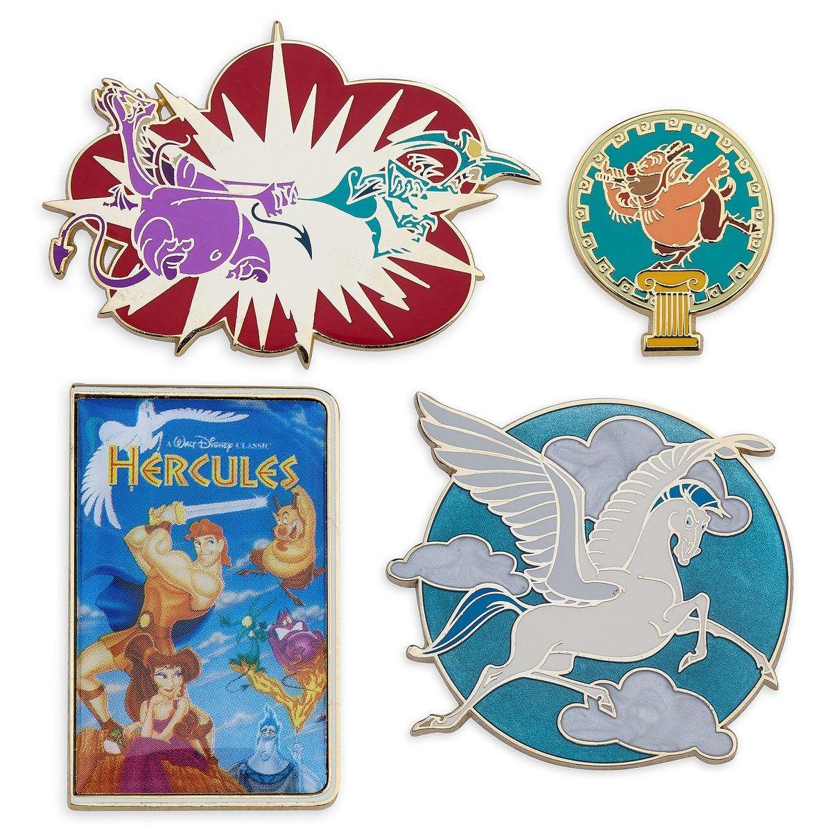 Hercules Disney pins set