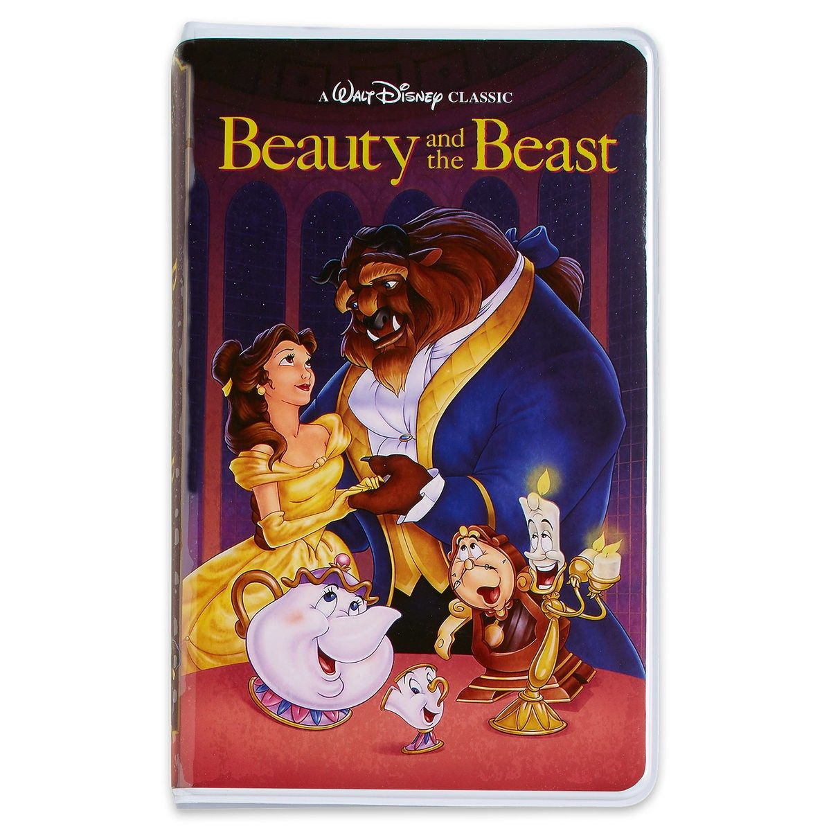 Beauty and the Beast VHS journal