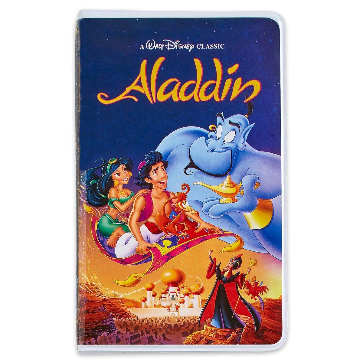 Aladdin VHS journal