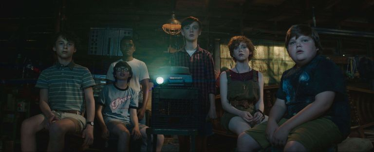 The Losers Club in 'It'