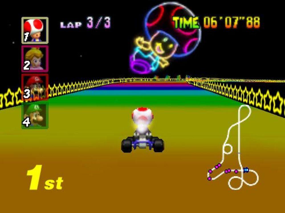 Mario Kart 64 Toad