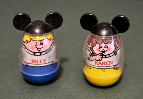 Billy and Karen weebles mickey mouse club