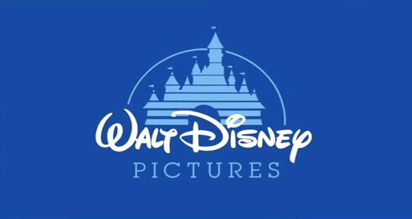 Walt Disney castle old cartoon logo