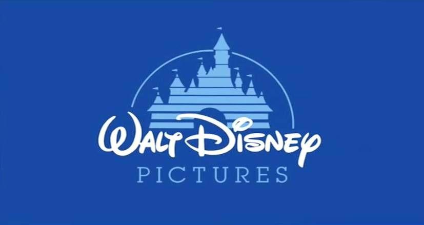 Walt Disney castle old cartoon logo