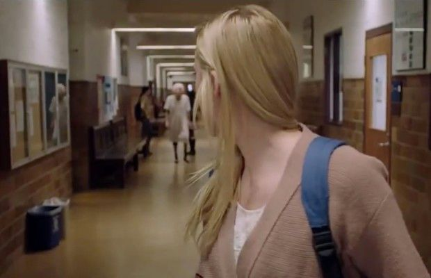 "Maika Monroe and ""it"" in 'It Follows'"