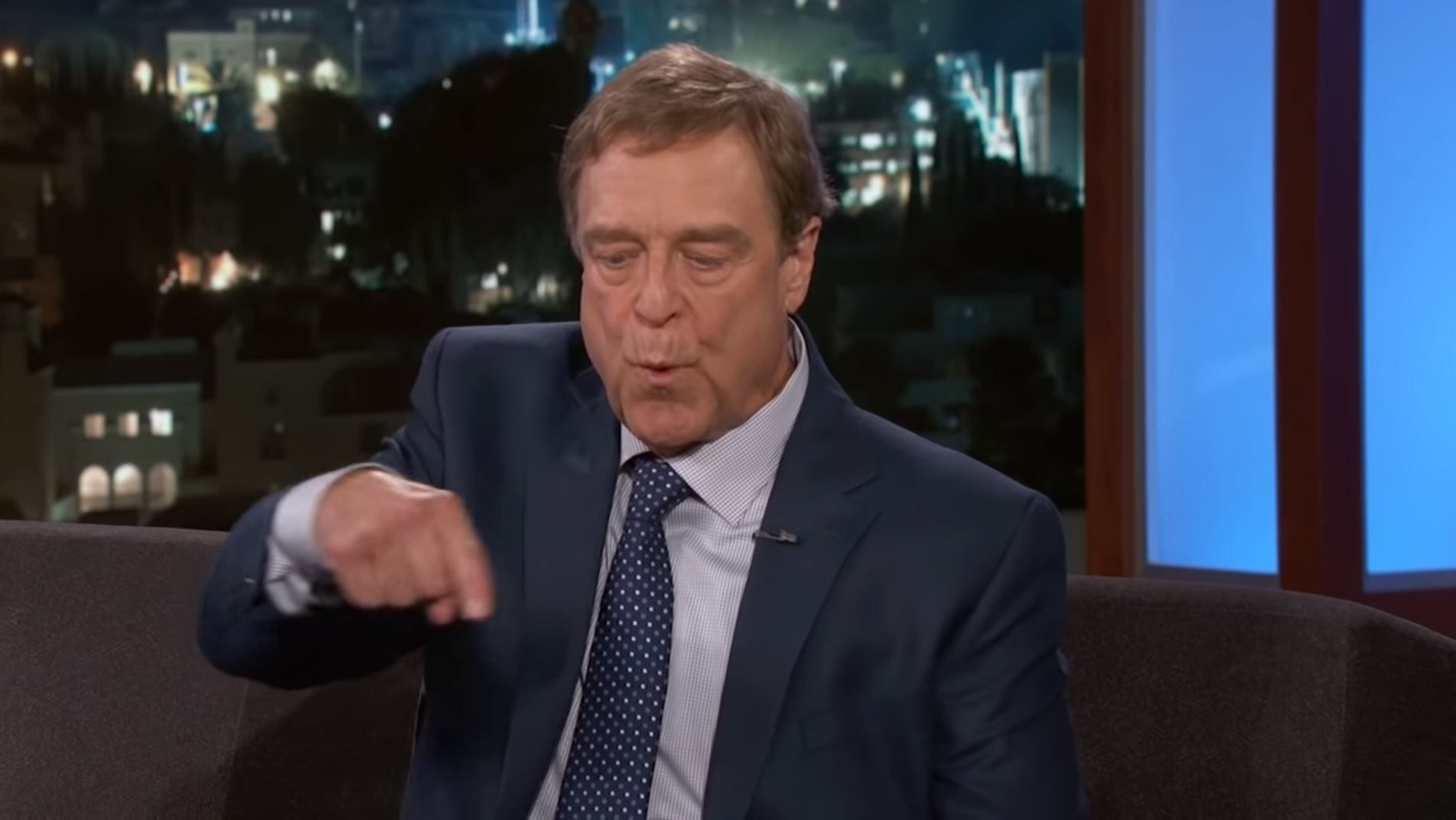 John Goodman on Jimmy Kimmel Live