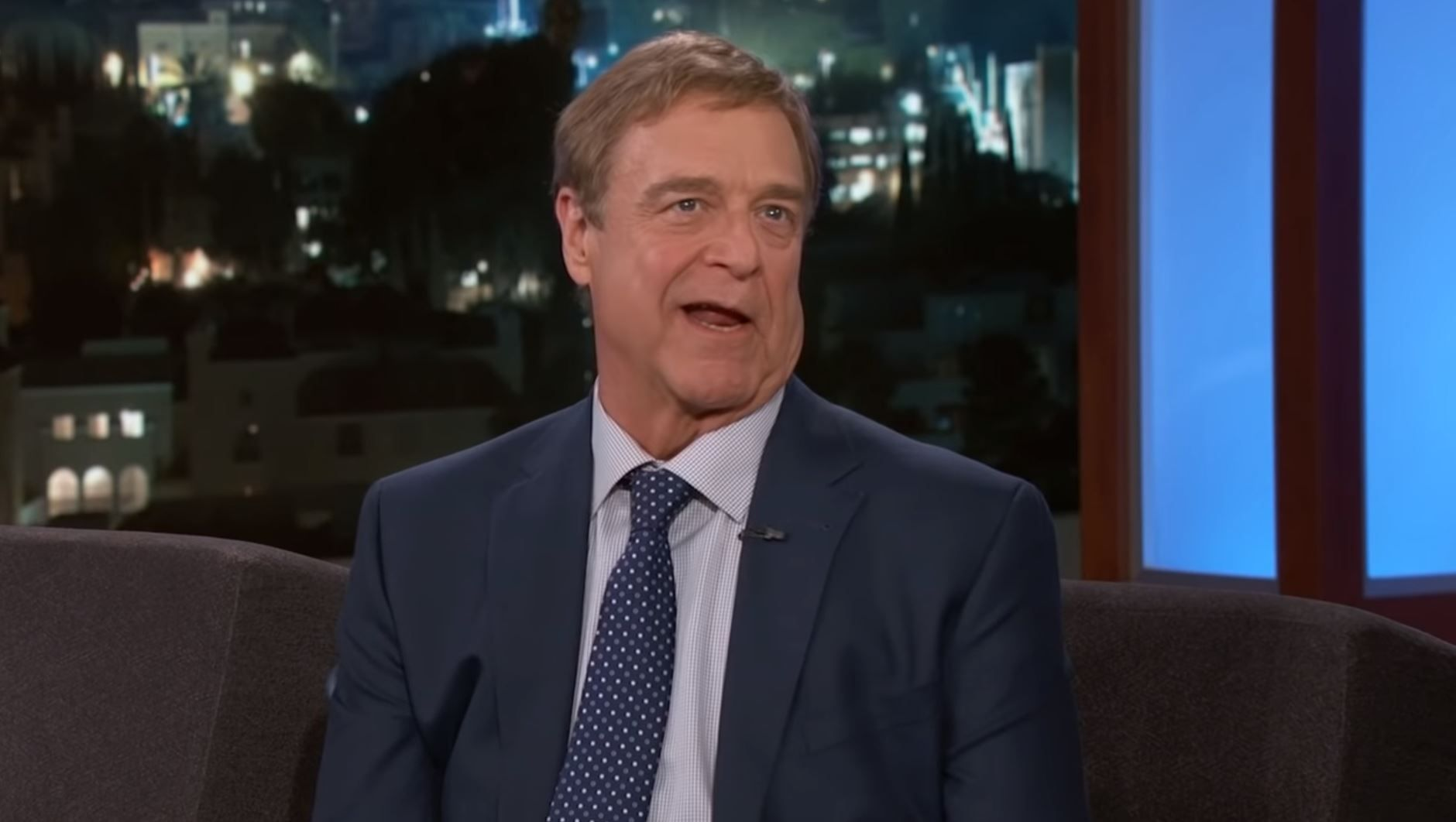 John Goodman on Jimmy Kimmel