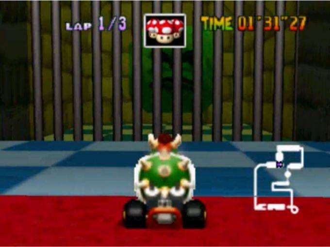 Bowser Mario Kart 64