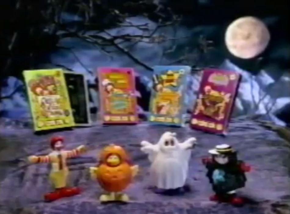 McDonaldland figures halloween