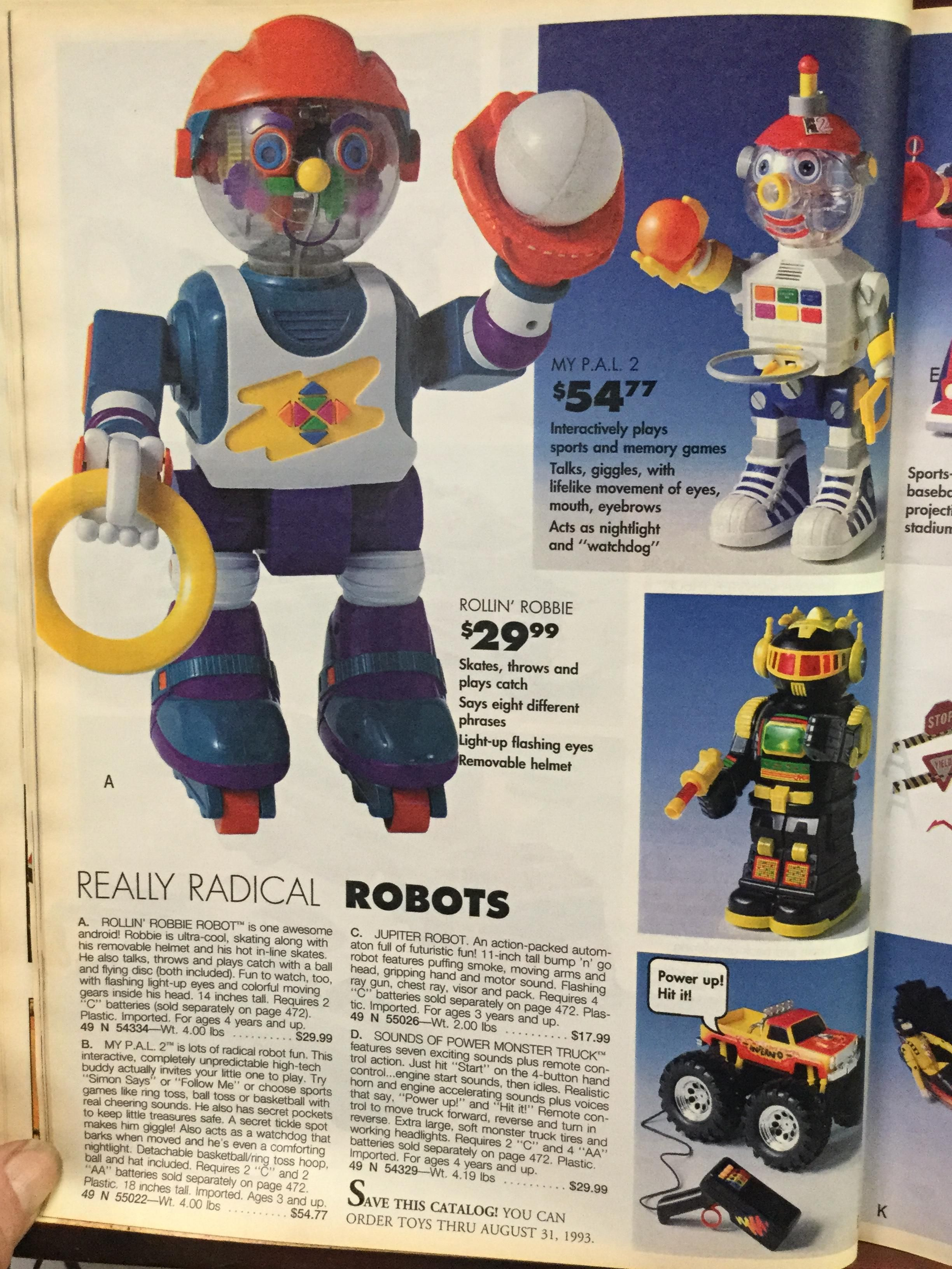 Sears Wish Book Robots