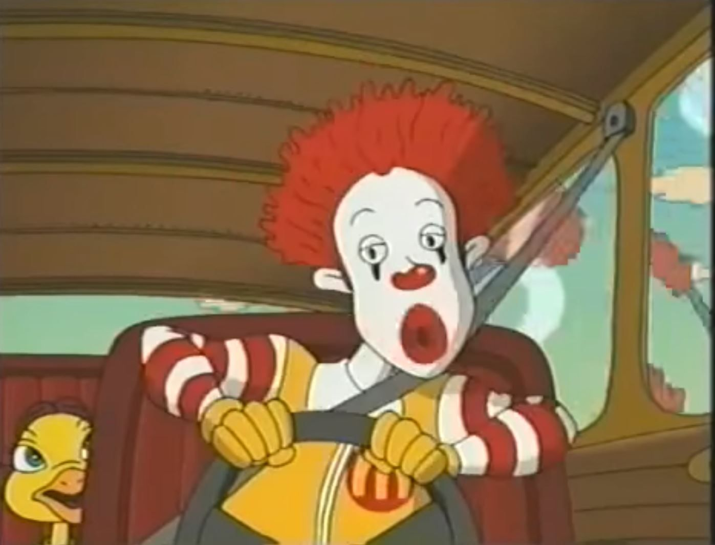 McDonalds Scared Silly Ronald