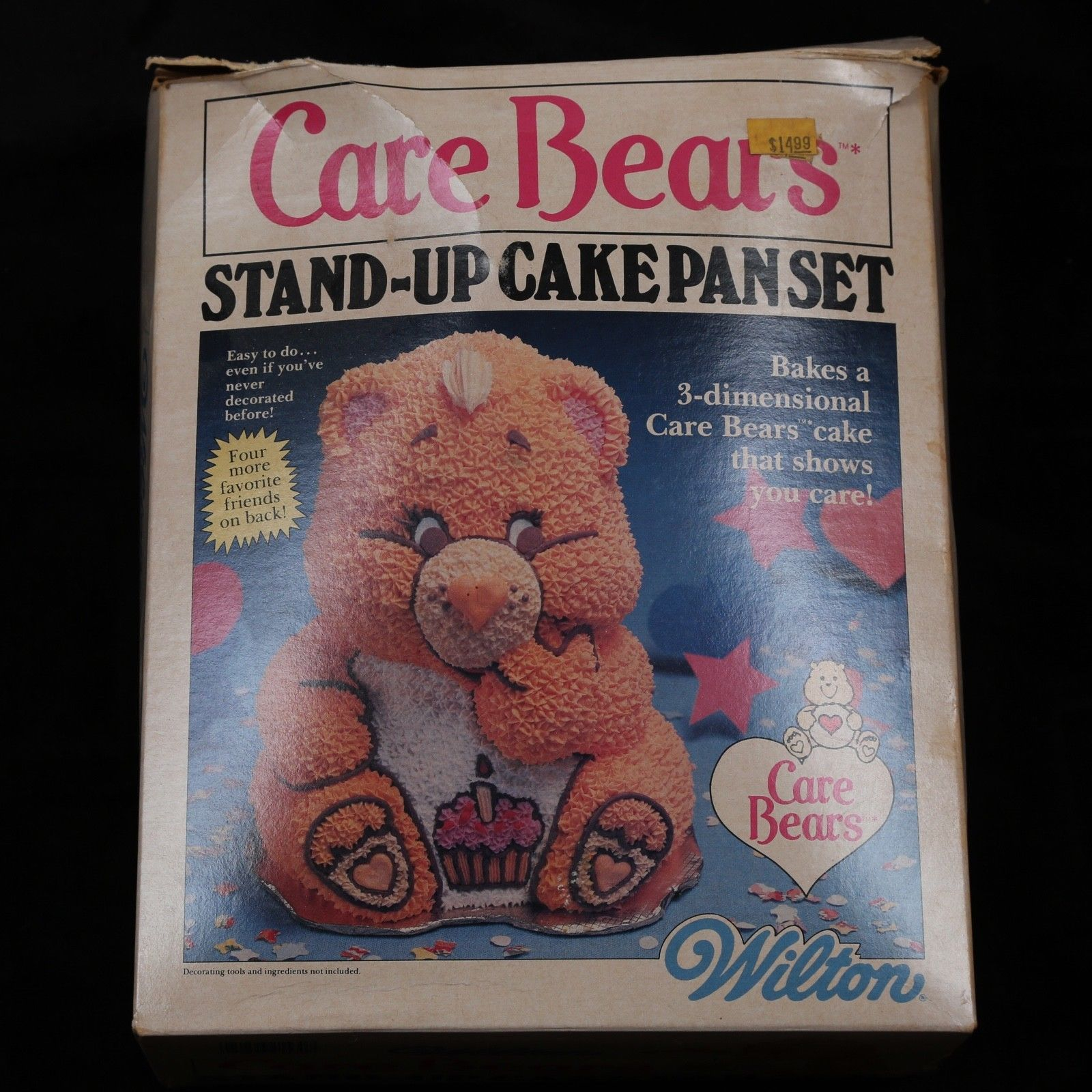 Box for a Care Bear stand-up cake pan set