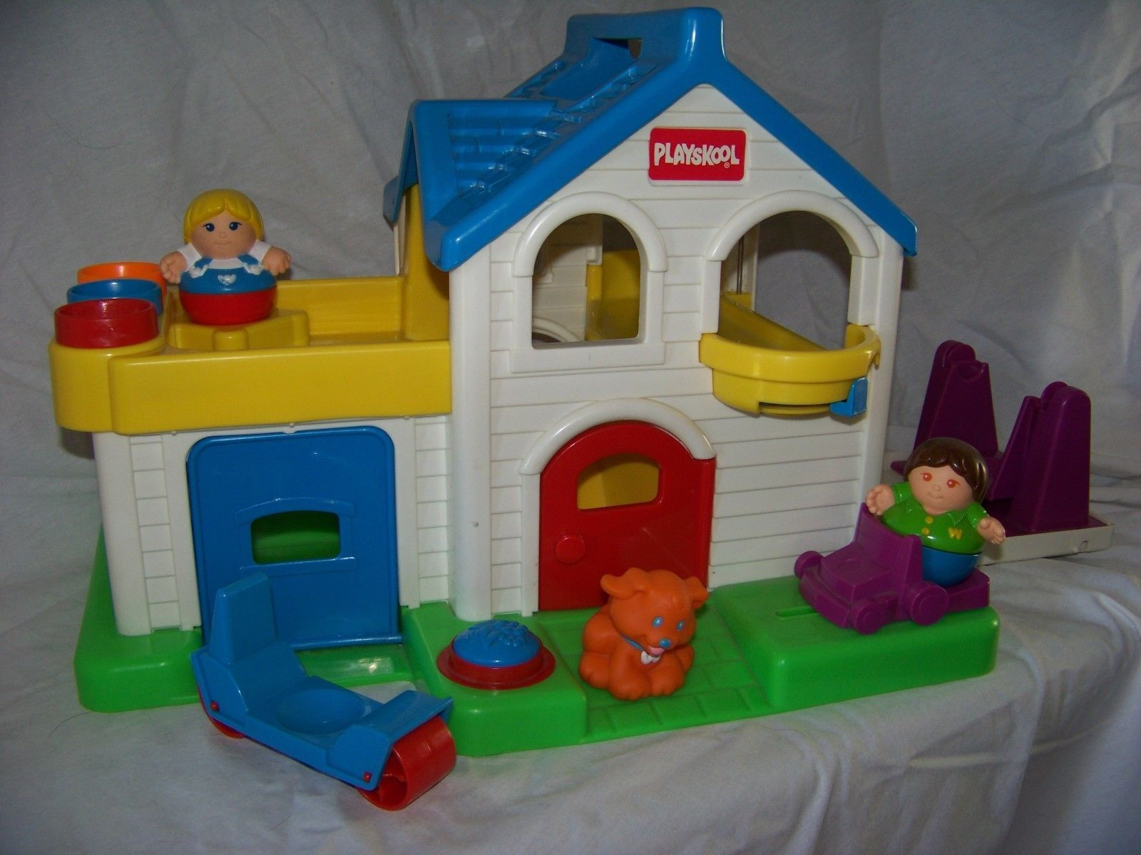 Weebles Playskool playhouse