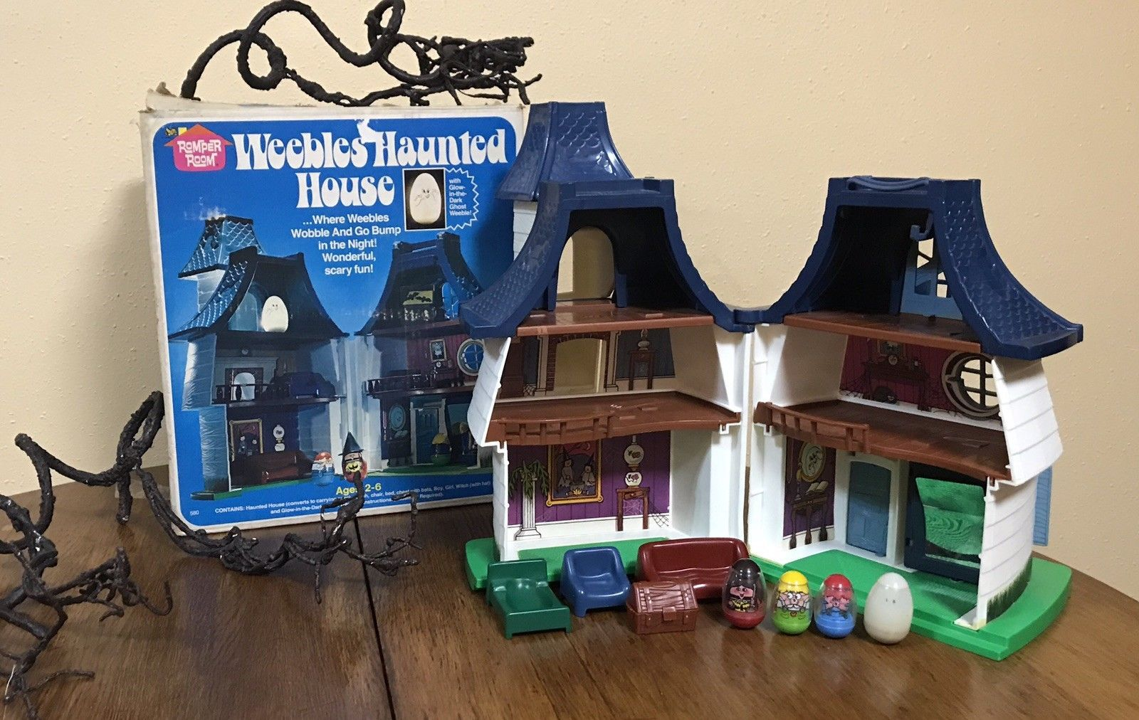 Weebles Haunted House